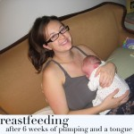 My Breastfeeding Journey (Success with breastfeeding after clipping a tongue tie)