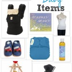 My must have baby items