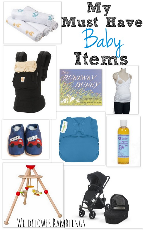 My must-have baby items