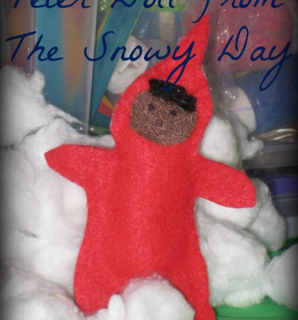How to make a simple Peter doll from The Snowy Day
