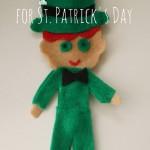 How to make a felt leprechaun for St. Patrick's Day