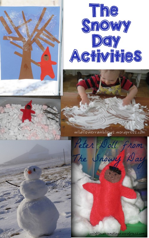 Tot School - The Snowy Day from Wildflower Ramblings
