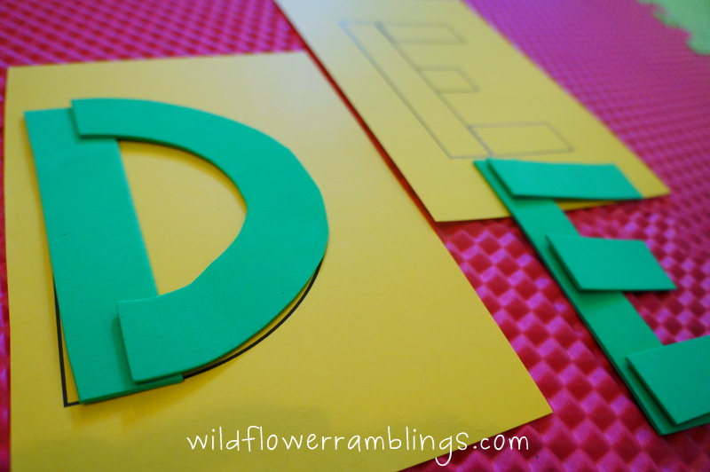 handwriting without tears letter templates - early literacy stage 3 utensil prewriting and uppercase