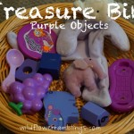 Treasure Bin: Purple Objects