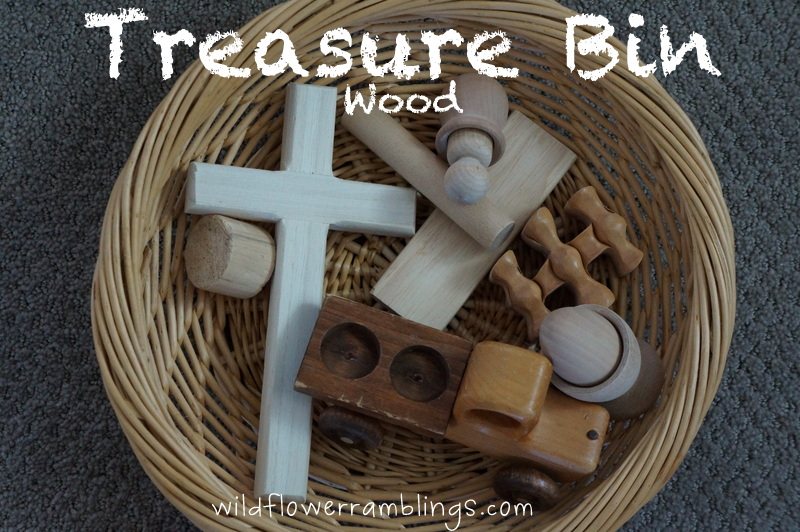 Treasure Bin: Wood