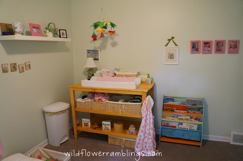 changing table in living room 3