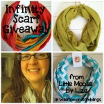 Who doesn't love an infinity scarf? {Giveaway from Little Moose by Liza!}