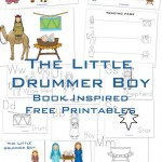 The Little Drummer Boy {free book-inspired printables!}