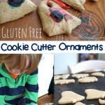 gluten free salt dough cookie cutter ornaments for christmas