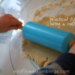 practical life skills: rolling the dough