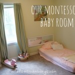 Our Montessori Baby Room {& Peter Rabbit Nursery}