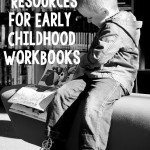 best workbooks to purchase for early childhood {preschool resources by subject for learning at home}