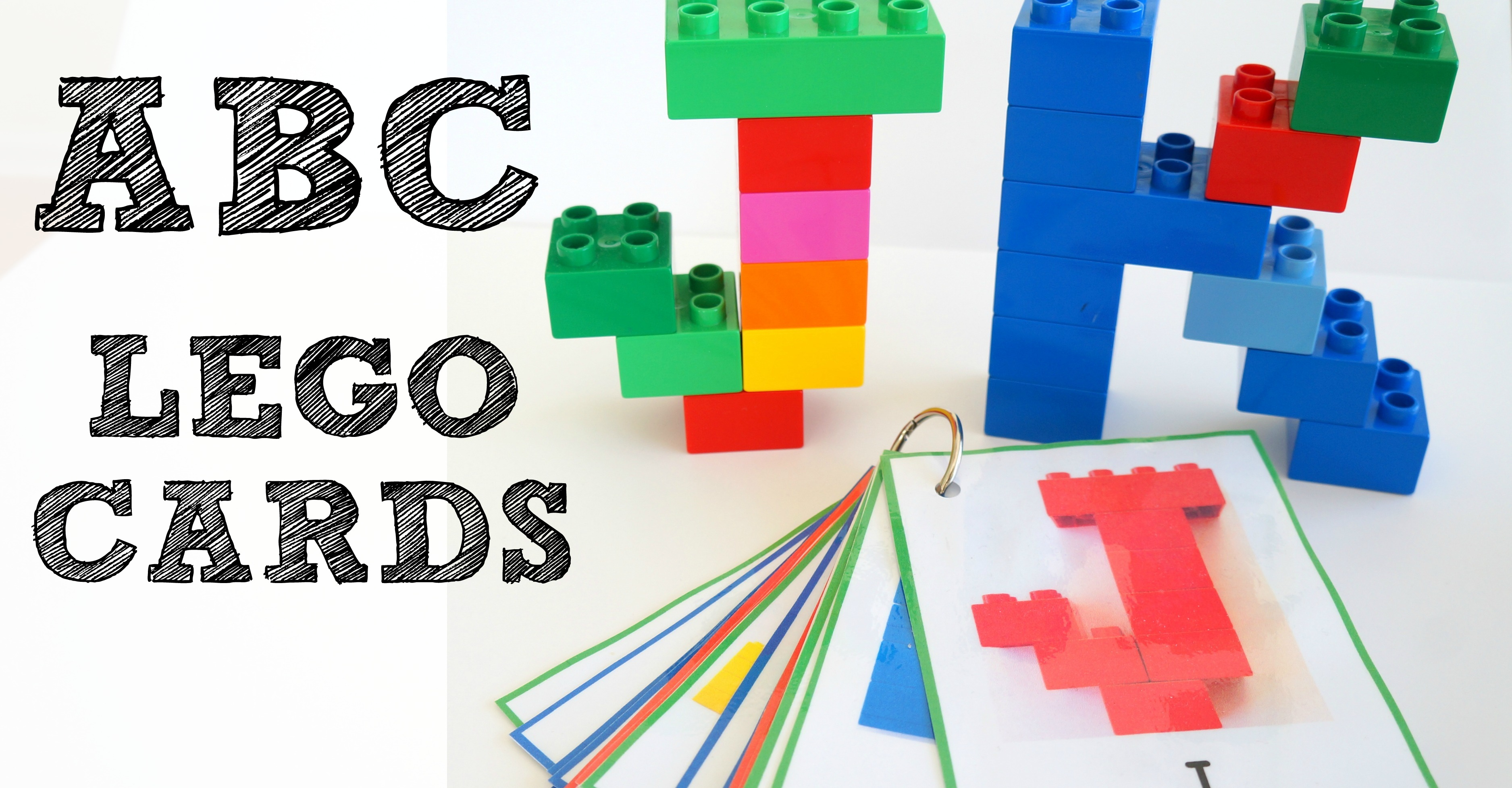 Alphabet Lego Cards: Uppercase {free printable!} - Wildflower ...