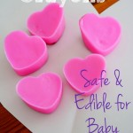Valentine's Day Heart Homemade Crayons {baby-safe and edible recipe!}
