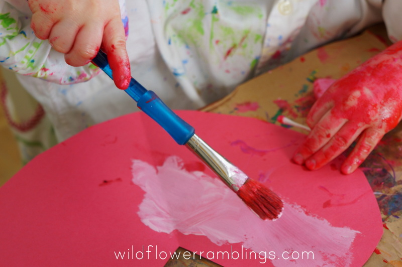 Invitation to Paint: Valentine's Day from Wildflower Ramblings