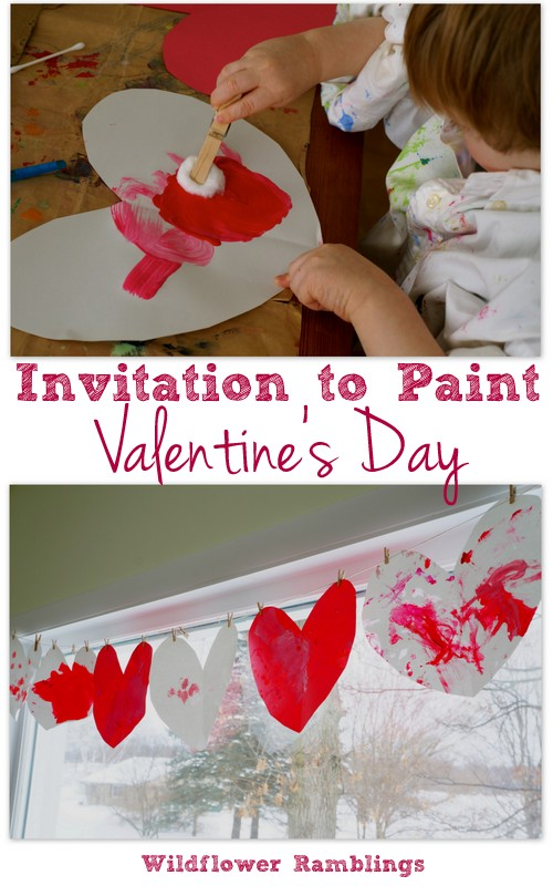 Invitation to Paint: Valentine's Day