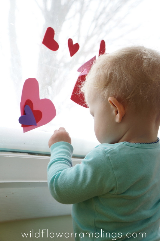 window art  - 21 Activities for One Year Olds - Baby Play - Wildflower Ramblings