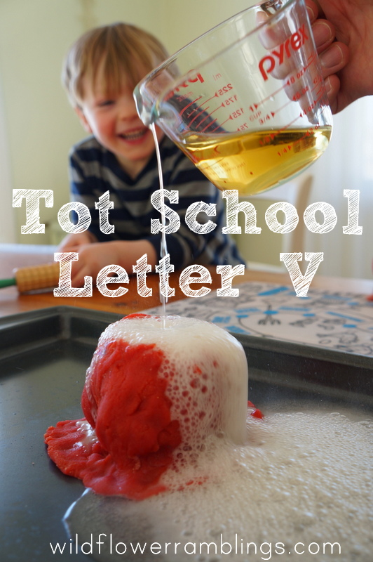 Tot School Letter V from Wildflower Ramblings