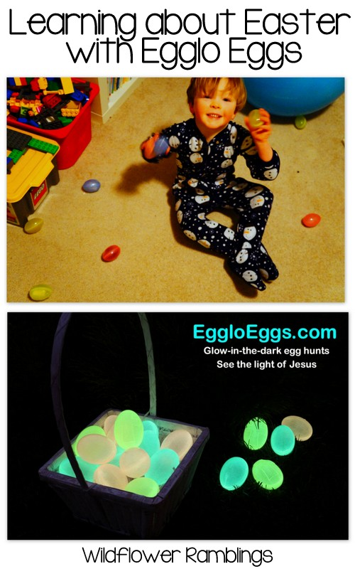 Learning about Easter with Egglo Eggs