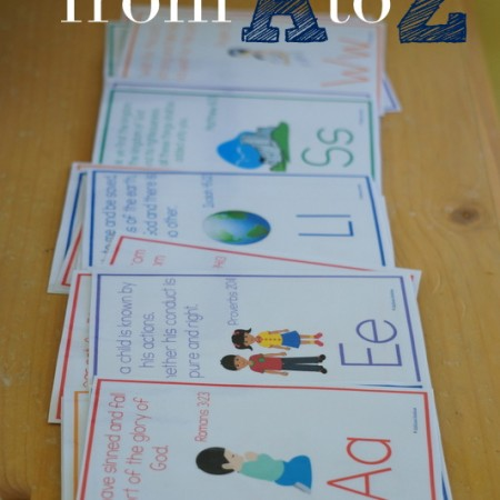 ABC Bible Verses for Children {free printable!}