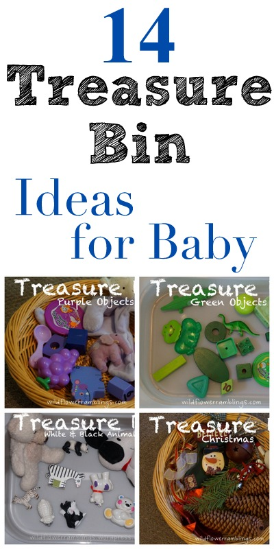 14 TREASURE BINS FOR BABY - wildflower ramblings