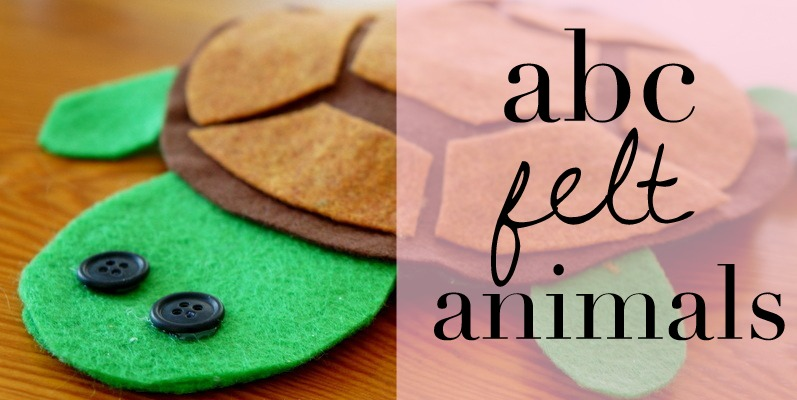 ABC Felt Animals