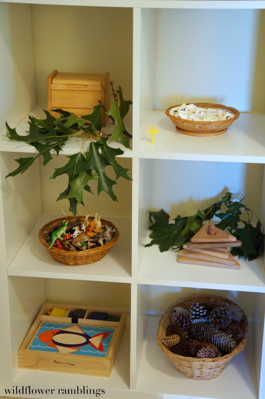 Reggio inspired ideas for play room from Wildflower Ramblings