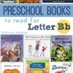 best preschool books for the letter b