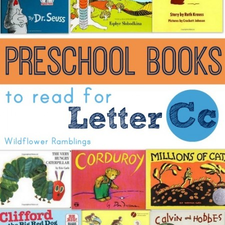 best preschool books for the letter C