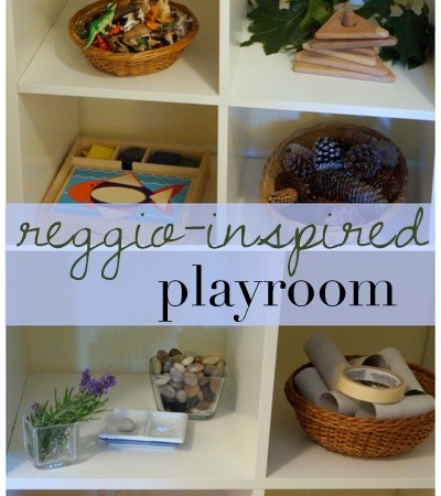 Reggio inspired playroom