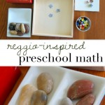 reggio inspired preschool math