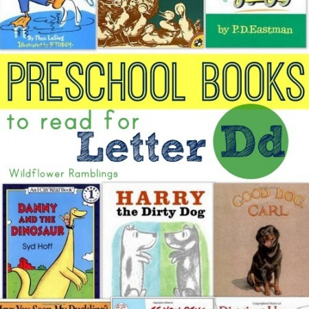preschool books for the letter d