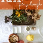 best no cook play dough for fall
