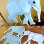 How to make a Felt Elephant