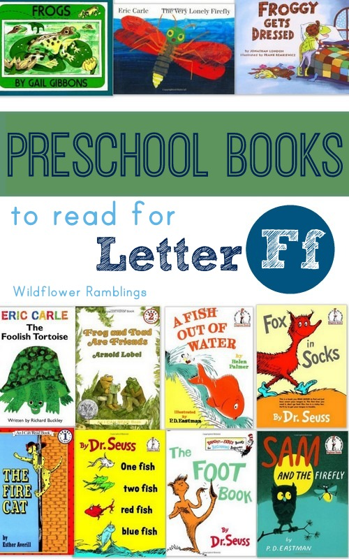 books for children for the letter f