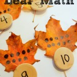 preschool leaf math
