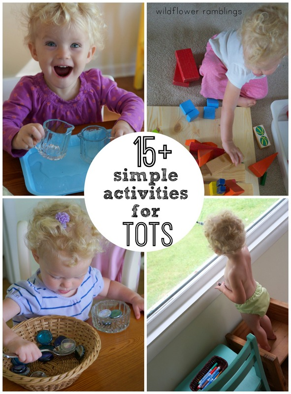 tot school ideas - how to keep my toddler busy - wildflower ramblings
