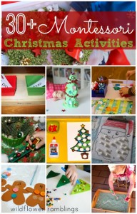 Christmas Montessori Activities