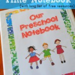 Preschool Circle Time Notebook