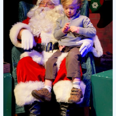 why let Santa be part of CHRISTmas