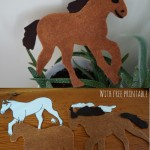 How to make a Felt Horse