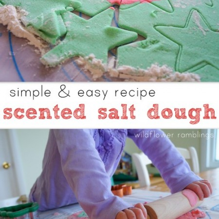 best scented salt dough ornaments