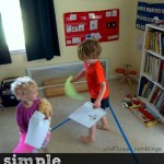 simple trick for circle time