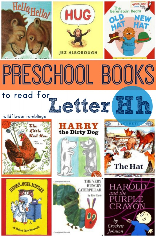 preschool books for letter Hh