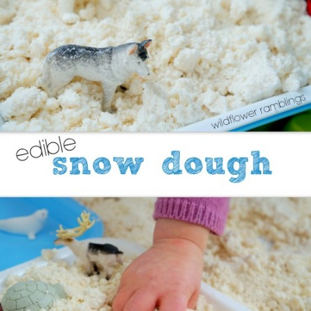 Edible Snow Dough