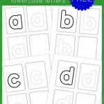 Preschool Handwriting Practice – Lowercase {free printables!}