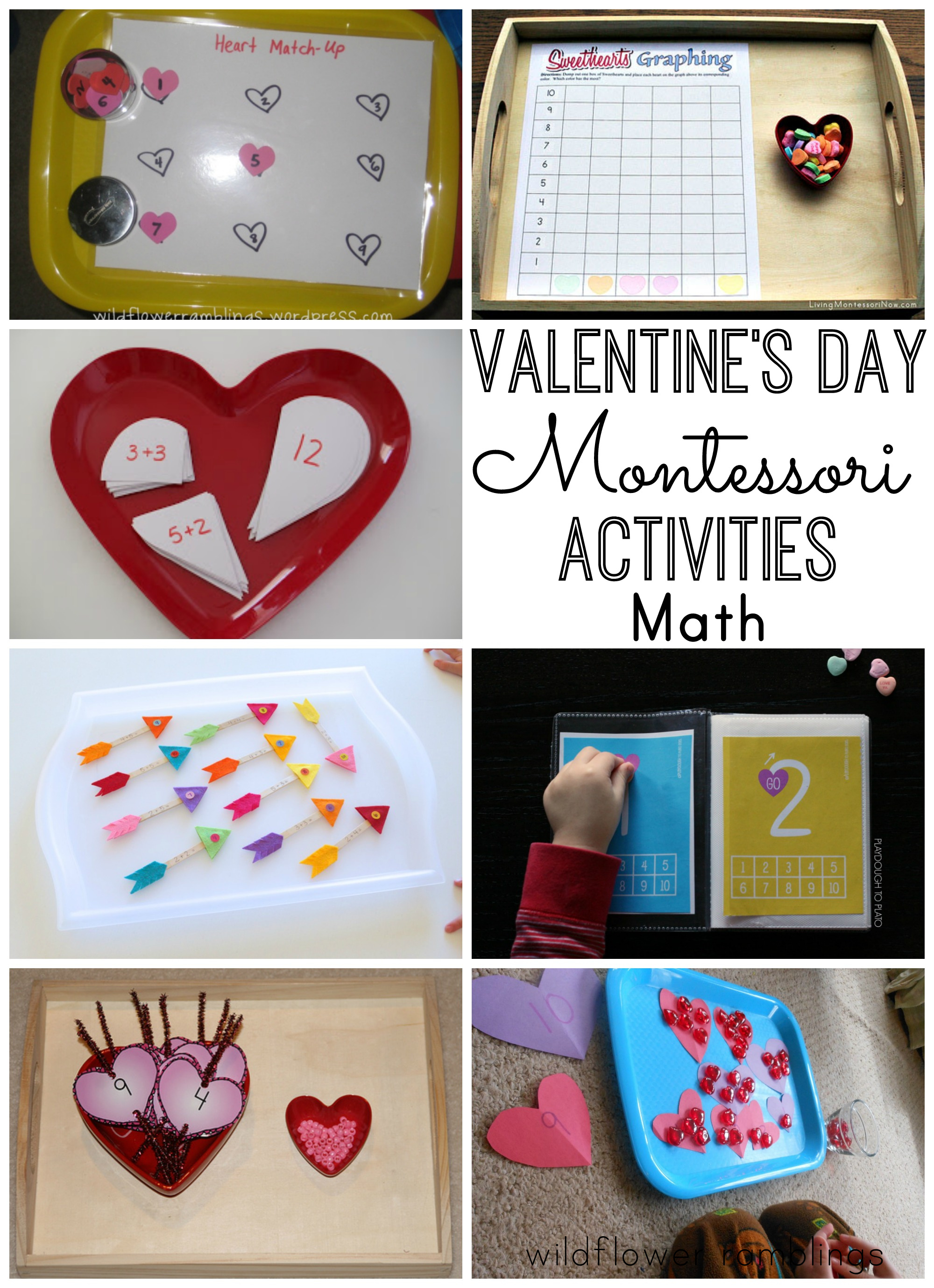 sight  Ramblings Day  Valentine's  Montessori montessori Wildflower activities Activities word
