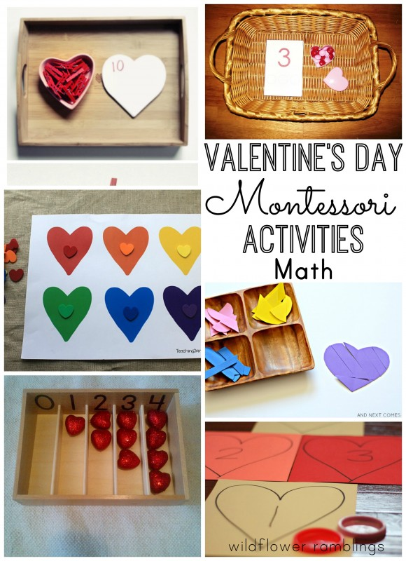 Valentine's Day Montessori Activities - Wildflower Ramblings