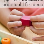 40+ montessori practical life ideas