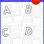 Preschool Handwriting Practice – Uppercase {free printables!}